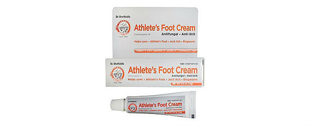Dr. Sheffield's Athlete Foot Cream Review