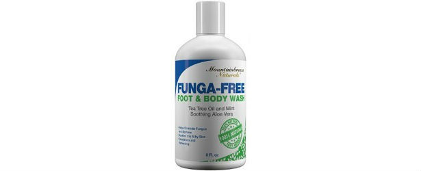 Mountainbreeze Naturals Funga-Free Foot & Body Wash Review
