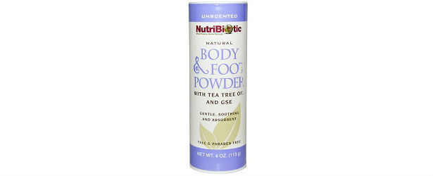 NutriBiotic Natural Body and Foot Powder Review