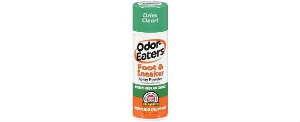 Odor Eaters Antibacterial Foot and Sneaker Spray Powder Review