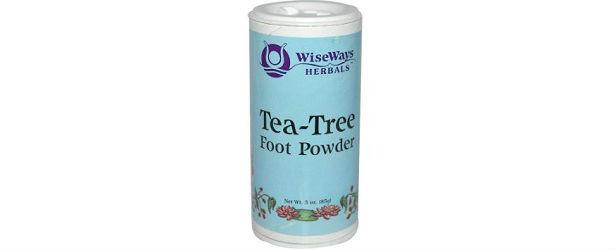 Wise Ways Herbals Tea-Tree Foot Powder Review