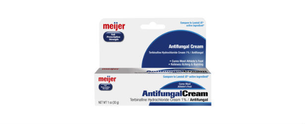 Meijer Athlete's Foot Cream Review