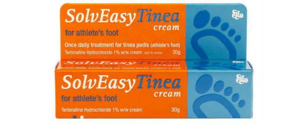 Ego SolvEasy Tinea Cream for Athlete's Foot Review