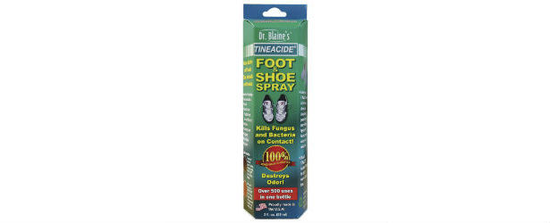 Dr. Blaine's Tineacide Anti-fungal Foot and Shoe Spray Review