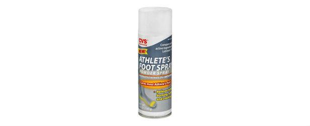 CVS Athlete's Foot Spray Review