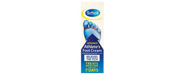 Scholl Advance Athlete's Foot Cream Review